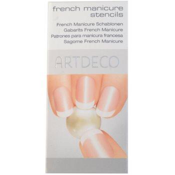 Artdeco French Manicure estênceis para manicure francesa