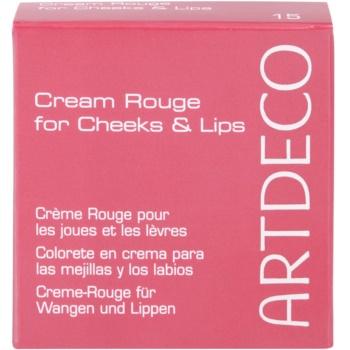 Artdeco Majestic Beauty кремові рум'яна для губ та щік 3