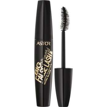 Astor Big & Beautiful False Lash Look mascara cu efect de gene false culoare 920 Ultra Black 9 ml
