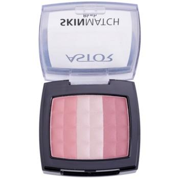 Astor SkinMatch trio tvářenka odstín 001 Rosy Pink 8,25 g