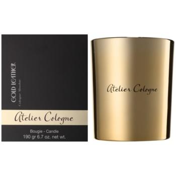 Atelier Cologne Gold Leather ароматна свещ