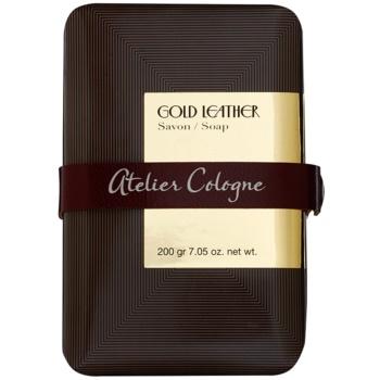 Atelier Cologne Gold Leather Parfümierte Seife  unisex