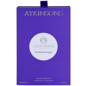 Atkinsons The British Bouquet Eau de Toilette unisex 5