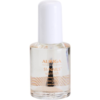 Auriga Si-Nails lac de unghii regenerator  Nourishes and Protects Fragile Nails 12 ml