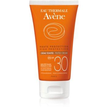 Avène Sun Sensitive crema de fata cu efect de protectie SPF 30