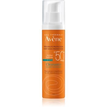avène cleanance solaire tratament matifiant protector pentru ten predispus la acnee spf50+