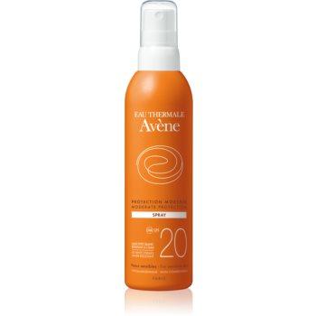 Avène Sun Sensitive sprej na opalování SPF 20 200 ml