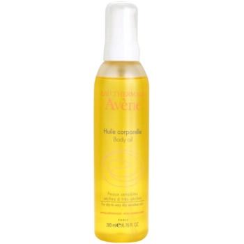 Fotografie Avène Body Care tělový olej pro suchou až velmi suchou citlivou pokožku 200 ml