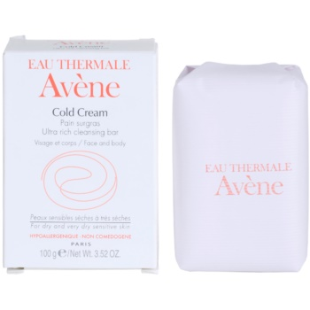 Avene Cold Cream sabonete para pele seca a muito seca