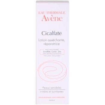 Avene Cicalfate лечебно и изсушаващо мляко 3