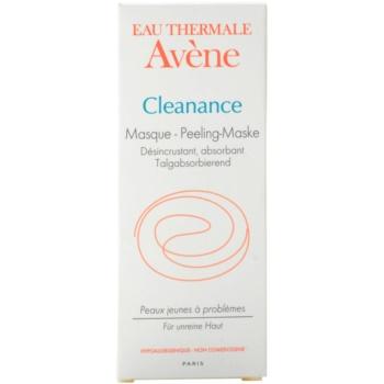 Avene Cleanance máscara esfoliante para pele problemática, acne 2