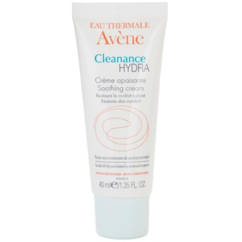 Avene Cleanance Hydra Soothing Cream With Moisturizing Effect