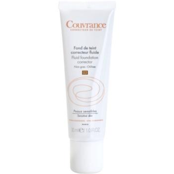 Avène Couvrance makeup lichid SPF 15