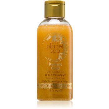 Avon Planet Spa Radiant Gold ulei de corp ?i pentru masaj, iluminator cu sclipici imagine produs