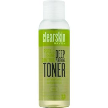 Avon Clearskin Pore & Shine Control lotiune faciala pentru curatare profunda cu efect racoritor
