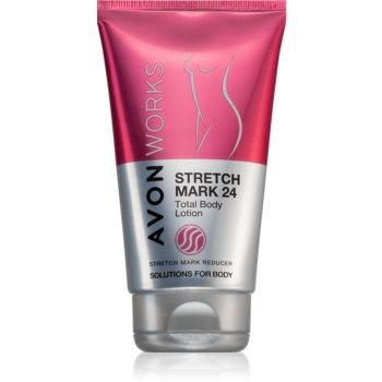 Avon Works tělové mléko proti striím 150 ml