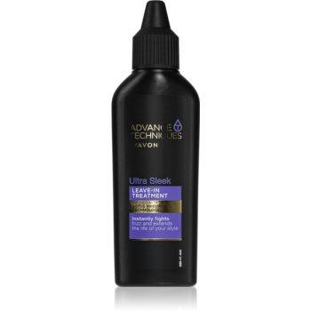Avon Advance Techniques Ultra Smooth ingrijire leave-in pentru par indisciplinat imagine produs