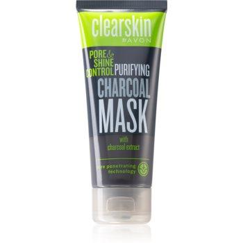 Avon Clearskin Pore & Shine Control Masca de curã?are cu cãrbune poza