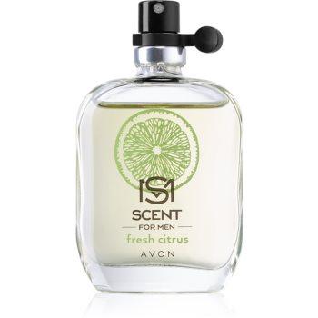 Avon Scent for Men Fresh Citrus Eau de Toilette pentru bărbați