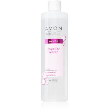 Avon Nutra Effects Soothe apa pentru curatare cu particule micele pentru piele sensibilă