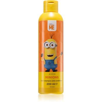Avon Minions Minios sampon si balsam 2 in 1 pentru copii poza