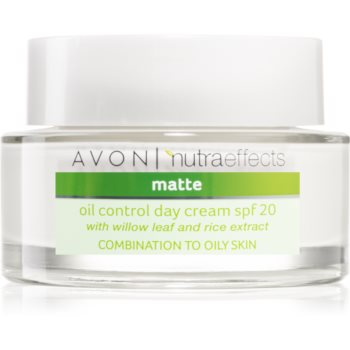 Avon Nutra Effects Matte mattierende Tagescreme SPF 20 50 ml