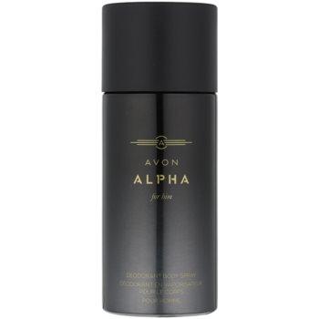 Avon Alpha For Him Deo Spray for Men