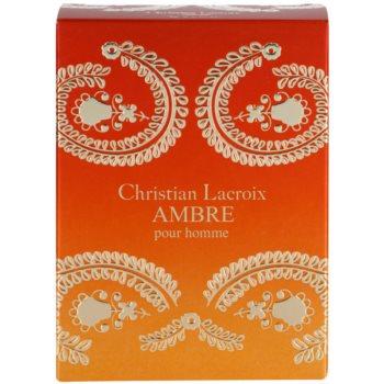 Avon Christian Lacroix Ambre туалетна вода для чоловіків 4