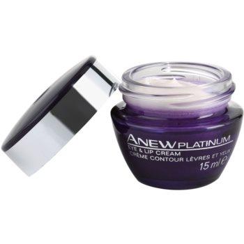 Avon Anew Platinum krema za okoli oči in ustnic 1