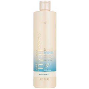 Avon Advance Techniques Anti-Dandruff šampon a kondicionér 2 v 1 proti lupům 400 ml