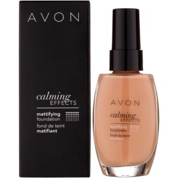 Avon Calming Effects Mattifying успокояващ фон дьо тен за матиране 2