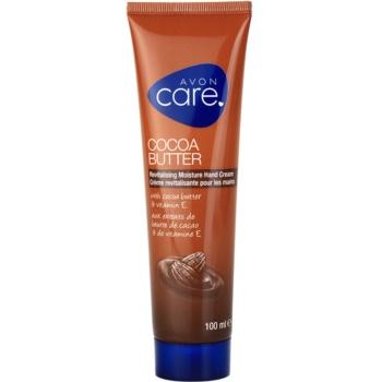 Avon Care rewitalizujący, nawilżający krem do rąk z masłem kakaowym i witaminą E