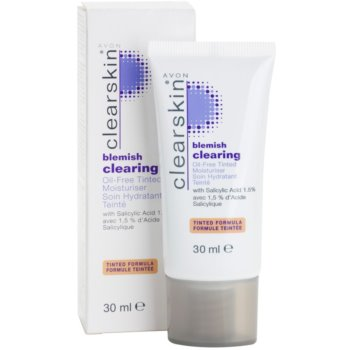 Avon Clearskin  Blemish Clearing тонуючий зволожуючий крем для проблемної шкіри 2