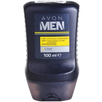 Avon Men Energizing nawilżający balsam po goleniu 2w1