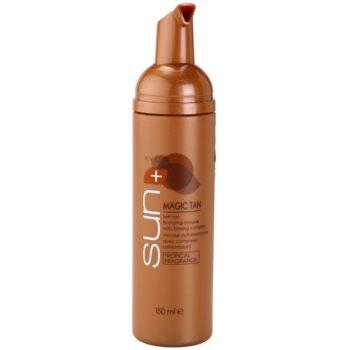 Avon Sun Magic Tan spuma autobronzanta complex pentru fermitatea corpului 1
