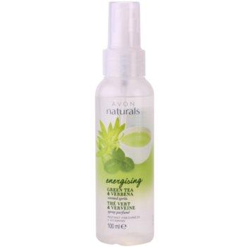 Avon Naturals Body Körperspray mit grünem Tee und Verbena