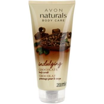 Avon Naturals Body Körperpeeling mit Schokolade