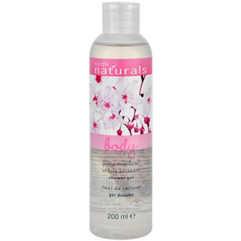 Avon Naturals Body Duschgel mit Kirschblüten 1