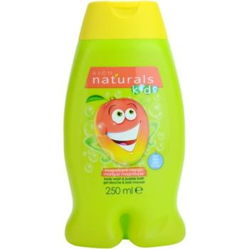 Avon Naturals Kids 2 in 1 spuma de baie si gel de dus pentru copii