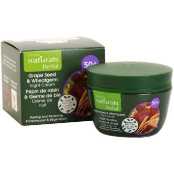 Avon Naturals Herbal ujędrniająco-regenerujący krem na noc z wyciągami z olejku z pestek winogron i kiełków pszenicy 3