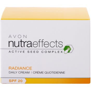 Avon Nutra Effects Radiance aufhellende Tagescreme SPF 20 4