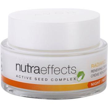Avon Nutra Effects Radiance rozjaśniający krem na noc
