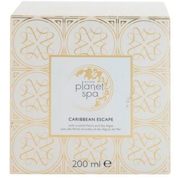 Avon Planet Spa Caribbean Escape Körpercreme für strahlende Haut mit Auszügen aus Perlen und Meeresalgen 3