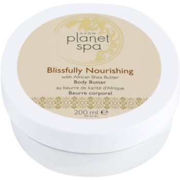 Avon Planet Spa African Shea Butter crema de corp nutritiva unt de shea