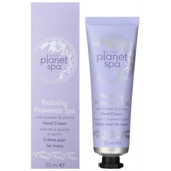 Avon Planet Spa Provence Lavender hydratačný krém na ruky s levanduľou 1