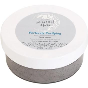 Avon Planet Spa Perfectly Purifying Reinigungskörperpeeling mit Mineralien