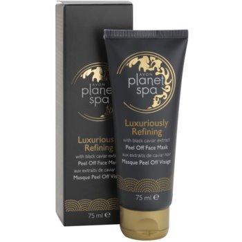 Avon Planet Spa Luxury Spa luksuzna obnovitvena luščilna maska za obraz z izvlečki črnega kaviarja 2