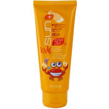 Avon Sun Kids creme bronzeador para crianças  SPF 50