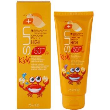 Avon Sun Kids creme bronzeador para crianças  SPF 50 1