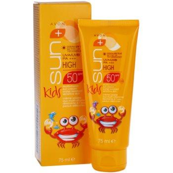 Avon Sun Kids creme bronzeador para crianças  SPF 50 2